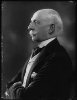 Sir Edmund Russborough Turton, 1st Bt, by Bassano Ltd - NPG x124460