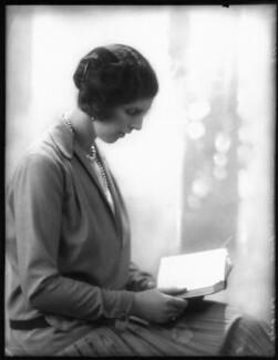 Clare Meriel Chichester (née Wingfield), Lady Templemore, by Bassano Ltd - NPG x124467