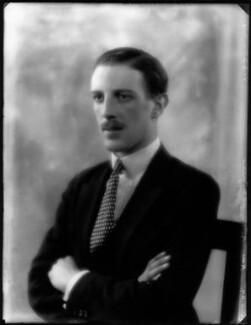 Mervyn Patrick Wingfield, 9th Viscount Powerscourt, by Bassano Ltd - NPG x124468