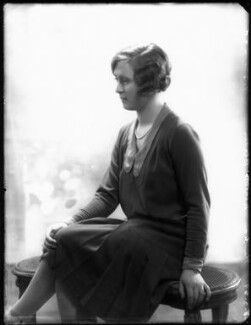Hon. Margaret Agnes Wyatt (née Blades), by Bassano Ltd - NPG x124470