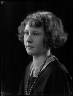 Hon. Janet Mary McBeath (née Blades), by Bassano Ltd - NPG x124474