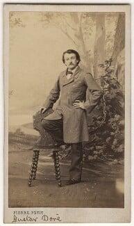 Gustave Doré, by Pierre Petit - NPG x45338