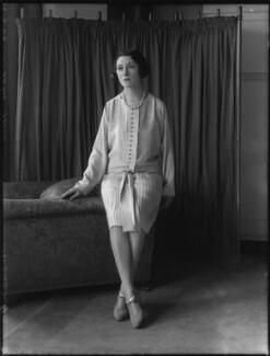 Minoru Foley (née Greenstone), Lady Foley, by Bassano Ltd - NPG x124477