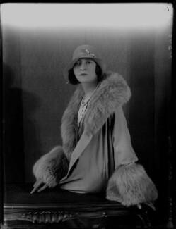 Minoru Foley (née Greenstone), Lady Foley, by Bassano Ltd - NPG x124478