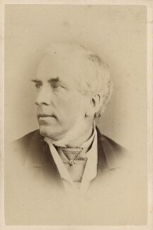 John Callcott Horsley, by Elliott & Fry, 1870s - NPG Ax28930 - © National Portrait Gallery, London