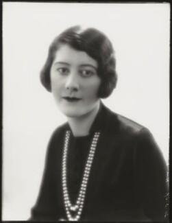 Hon. Diana Pearl Bernard (née Dundas), by Bassano Ltd - NPG x124483