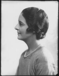 Isabella (née Nairn), Lady Thomson-Walker, by Bassano Ltd, 21 March 1929 - NPG x124486 - © National Portrait Gallery, London