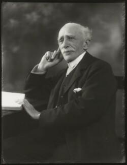 Sir (John) Ambrose Fleming, by Bassano Ltd, 25 March 1929 - NPG x124488 - © National Portrait Gallery, London