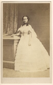 Queen Alexandra, by E. Lange - NPG Ax24174