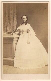 Queen Alexandra, by E. Lange, circa 1860 - NPG Ax24174 - © National Portrait Gallery, London
