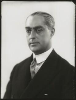 Sir Frank Cecil Meyer, 2nd Bt, by Bassano Ltd - NPG x124492