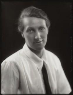 Nona Carol Hermon-Worsley (née Hermon-Hodge), by Bassano Ltd - NPG x124495