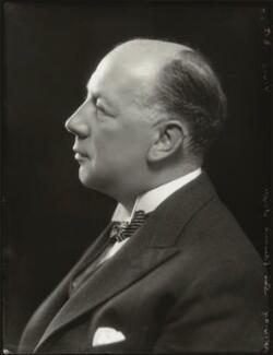 Edward Mauger Iliffe, 1st Baron Iliffe, by Bassano Ltd - NPG x124497
