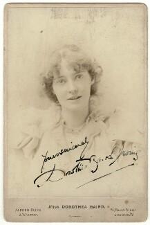 Dorothea Baird (Mrs H.B. Irving), by Alexander Corbett, for  Alfred Ellis & Walery - NPG x28318