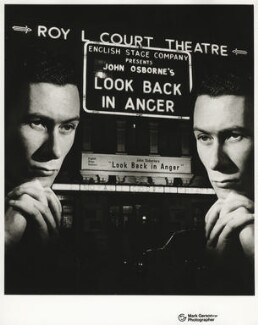 John Osborne, by Mark Gerson - NPG x32734