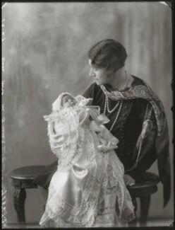 Iris Dawn (née Buller), Lady Ferguson-Davie; Hon. Noorouz Weston Buller (née Cable), by Bassano Ltd - NPG x124547