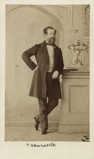 Henry Pelham Fiennes Pelham-Clinton, 5th Duke of Newcastle-under-Lyne, by Caldesi, Blanford & Co, early 1860s - NPG Ax29669 - © National Portrait Gallery, London