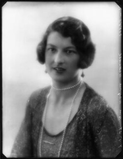 Hon. Marjory Florence Gibbs (née Maxwell), by Bassano Ltd - NPG x124552