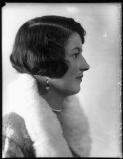 Hon. Marjory Florence Gibbs (née Maxwell), by Bassano Ltd - NPG x124553
