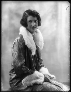 Hon. Marjory Florence Gibbs (née Maxwell), by Bassano Ltd - NPG x124554