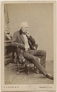 Sir William Fairbairn, 1st Bt, by C.A. Duval & Co (Charles Allen Du Val), 1860s - NPG Ax16266 - © National Portrait Gallery, London
