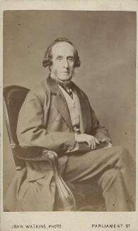 (John) Frederick Tayler, by John Watkins - NPG Ax14971