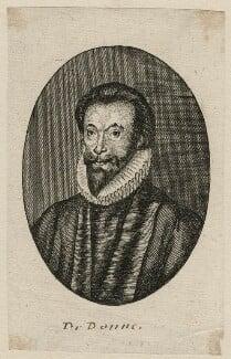 John Donne, after Isaac Oliver - NPG D21407
