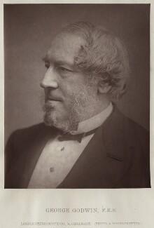 George Godwin, by London Stereoscopic & Photographic Company - NPG x128136