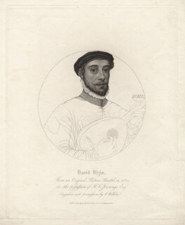 David Riccio (Rizzio), by Charles Wilkin, after  Unknown artist - NPG D21382