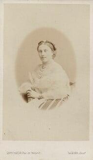 Louise Frederica Augusta Cavendish (née von Alten), Duchess of Devonshire (formerly Duchess of Manchester), by Augustin Aimé Joseph Le Jeune - NPG Ax29652