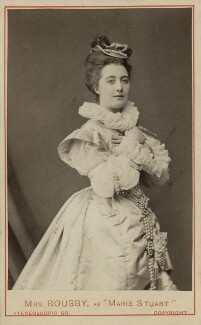 Clara Marion Jessie Rousby (née Dowse) as Mary Stuart in 'Mary Queen of Scots', by London Stereoscopic & Photographic Company - NPG x45111
