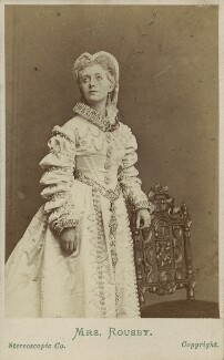 Clara Marion Jessie Rousby (née Dowse) as Princess Elizabeth in ''Twixt Axe and Crown', by London Stereoscopic & Photographic Company - NPG Ax25085