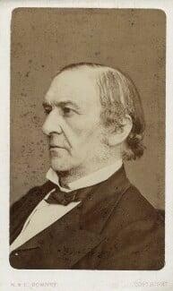 William Ewart Gladstone, by W. & D. Downey - NPG Ax17732