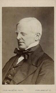 Robert Lowe, 1st Viscount Sherbrooke, by John Watkins, or by  John & Charles Watkins - NPG Ax17737