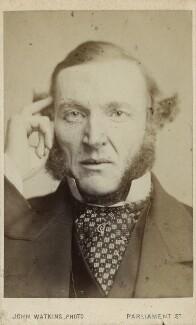 Hugh McCalmont Cairns, 1st Earl Cairns, by John Watkins - NPG Ax17740