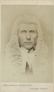 Roundell Palmer, 1st Earl of Selborne, by John & Charles Watkins - NPG Ax17744