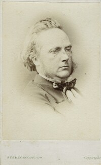 George Douglas Campbell, 8th Duke of Argyll, by London Stereoscopic & Photographic Company, circa 1873 - NPG Ax17761 - © National Portrait Gallery, London