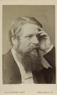 Sir Stafford Henry Northcote, 1st Earl of Iddesleigh, by John Watkins, early 1870s - NPG Ax17763 - © National Portrait Gallery, London