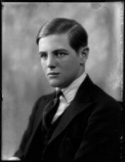 Randolph Frederick Edward Spencer Churchill, by Bassano Ltd - NPG x124630