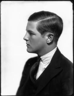 Randolph Frederick Edward Spencer Churchill, by Bassano Ltd - NPG x124631