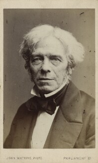 Michael Faraday, by John Watkins - NPG Ax17794