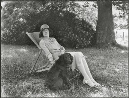 Edith Constance Annesley (née Rawlinson), Countess Annesley, by Bassano Ltd, 19 July 1929 - NPG x124684 - © National Portrait Gallery, London