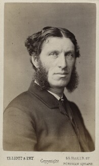 Matthew Arnold, by Elliott & Fry - NPG Ax17801