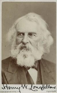 Henry Wadsworth Longfellow, by London Stereoscopic & Photographic Company - NPG Ax17805