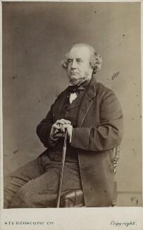 Richard Monckton Milnes, 1st Baron Houghton, by London Stereoscopic & Photographic Company - NPG Ax17806