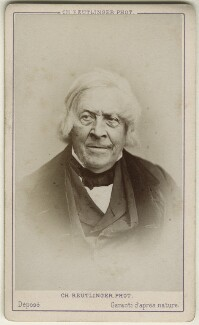 Jules Michelet, by Charles Reutlinger - NPG Ax17807