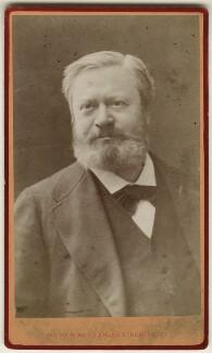 Edmond François Valentin About, by Nadar (Gaspard Félix Tournachon), 1880s - NPG Ax17814 - © National Portrait Gallery, London