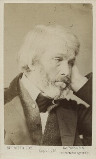 Thomas Carlyle, by Elliott & Fry - NPG Ax17815
