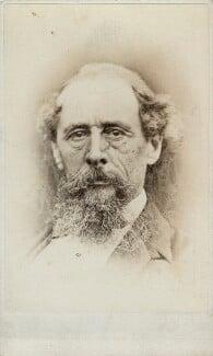 Charles Dickens, by Samuel E. Poulton - NPG Ax17820