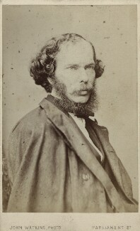 George Henry Lewes, by John Watkins, 1860s - NPG Ax17822 - © National Portrait Gallery, London